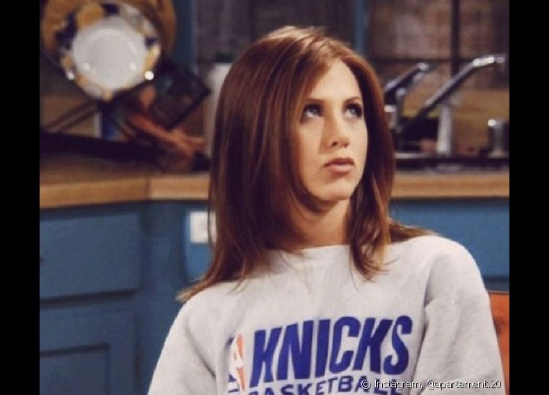Rachel Green, a personagem de Jennifer Aniston em 'Friends', já apostava no corte de cabelo long bob, tendo usado o modelo durante a terceira temporada do seriado