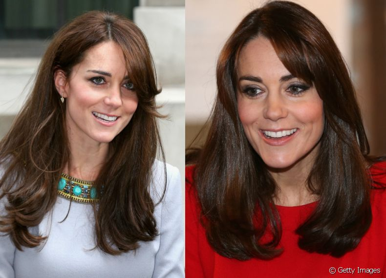 A duquesa de Cambridge, Kate middleton adotou o corte long bob em seu visual