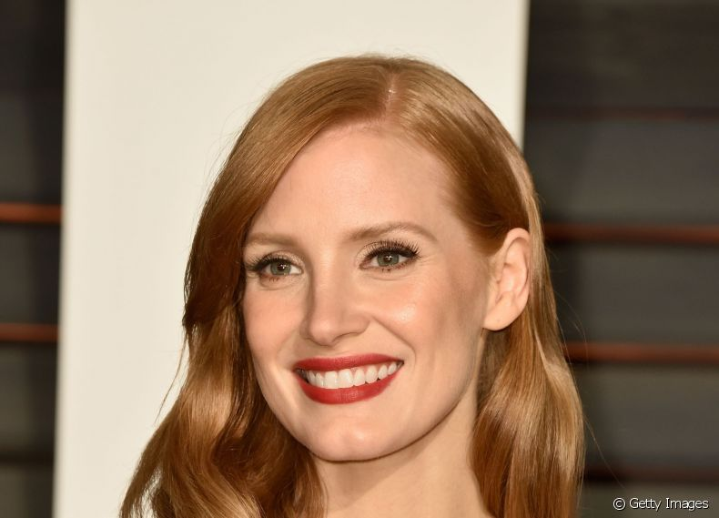 Jessica Chastain no after party do Oscar 2015